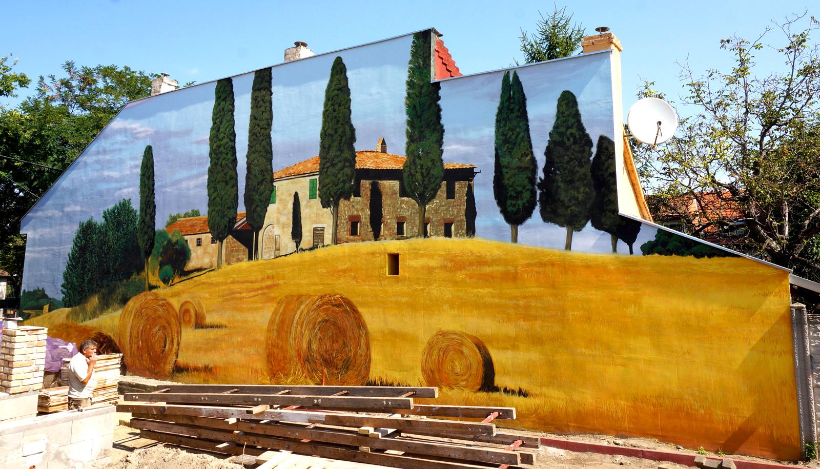 neopaint works - graffiti - homlokzat dekorfestés