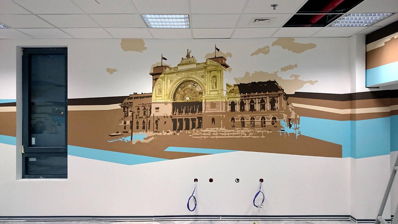 Budapest - Decathlon - Neopaint Works