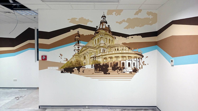 BudaPest - Budaörs Decathlon - Neopaint Works