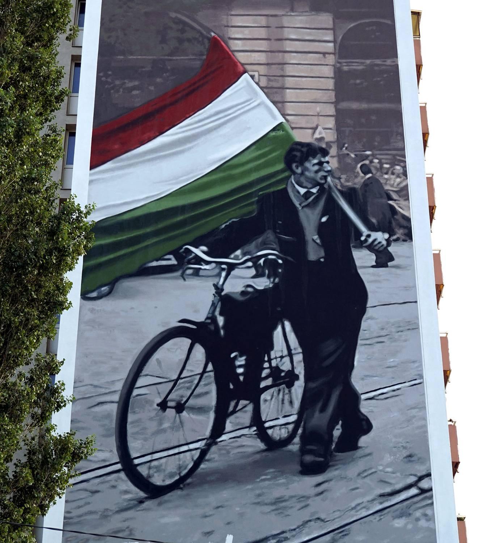 1956 // Véres zászlós felvonulás - Neopaint Works