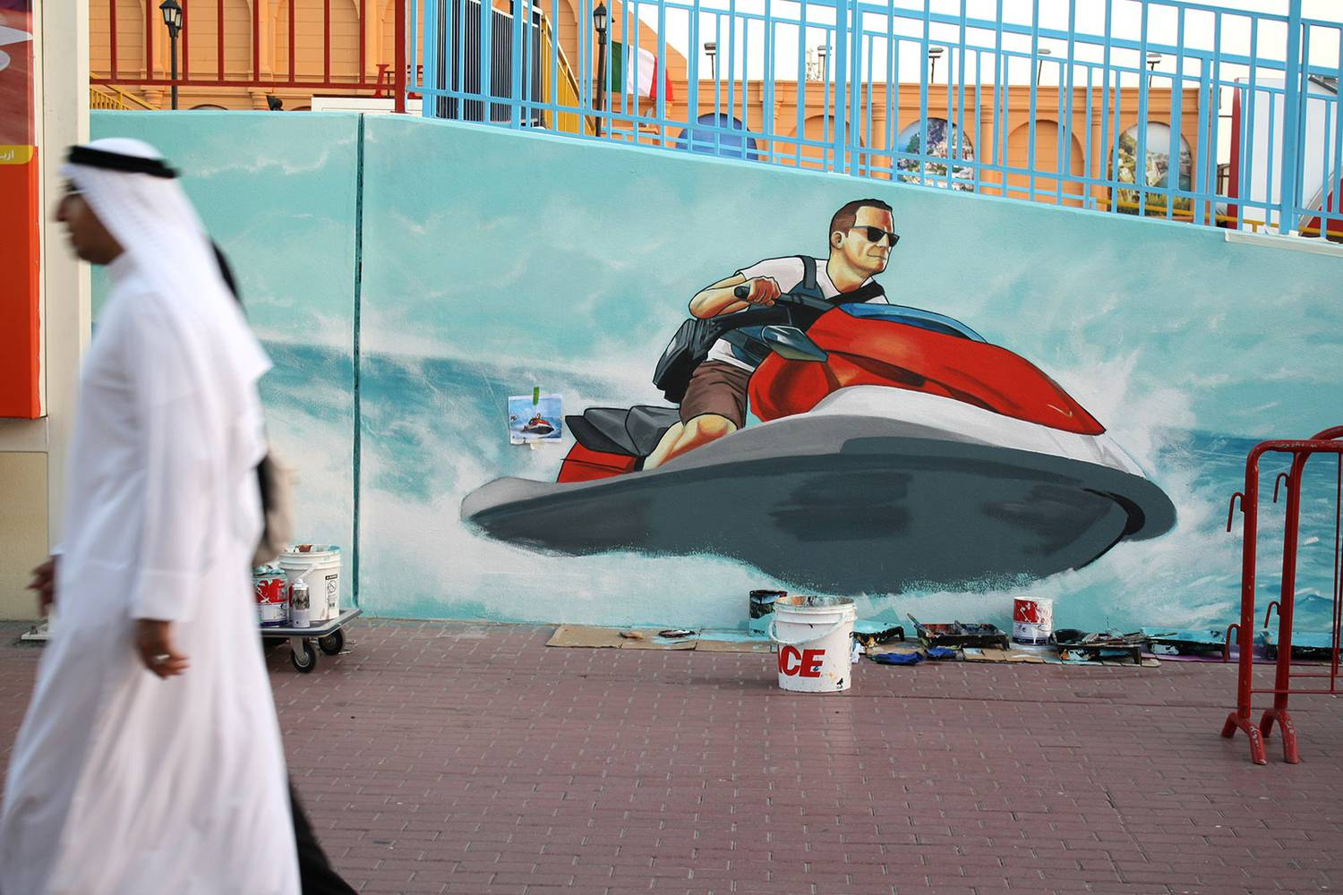 Dubai Global Village - Jetski- Neopaint Works