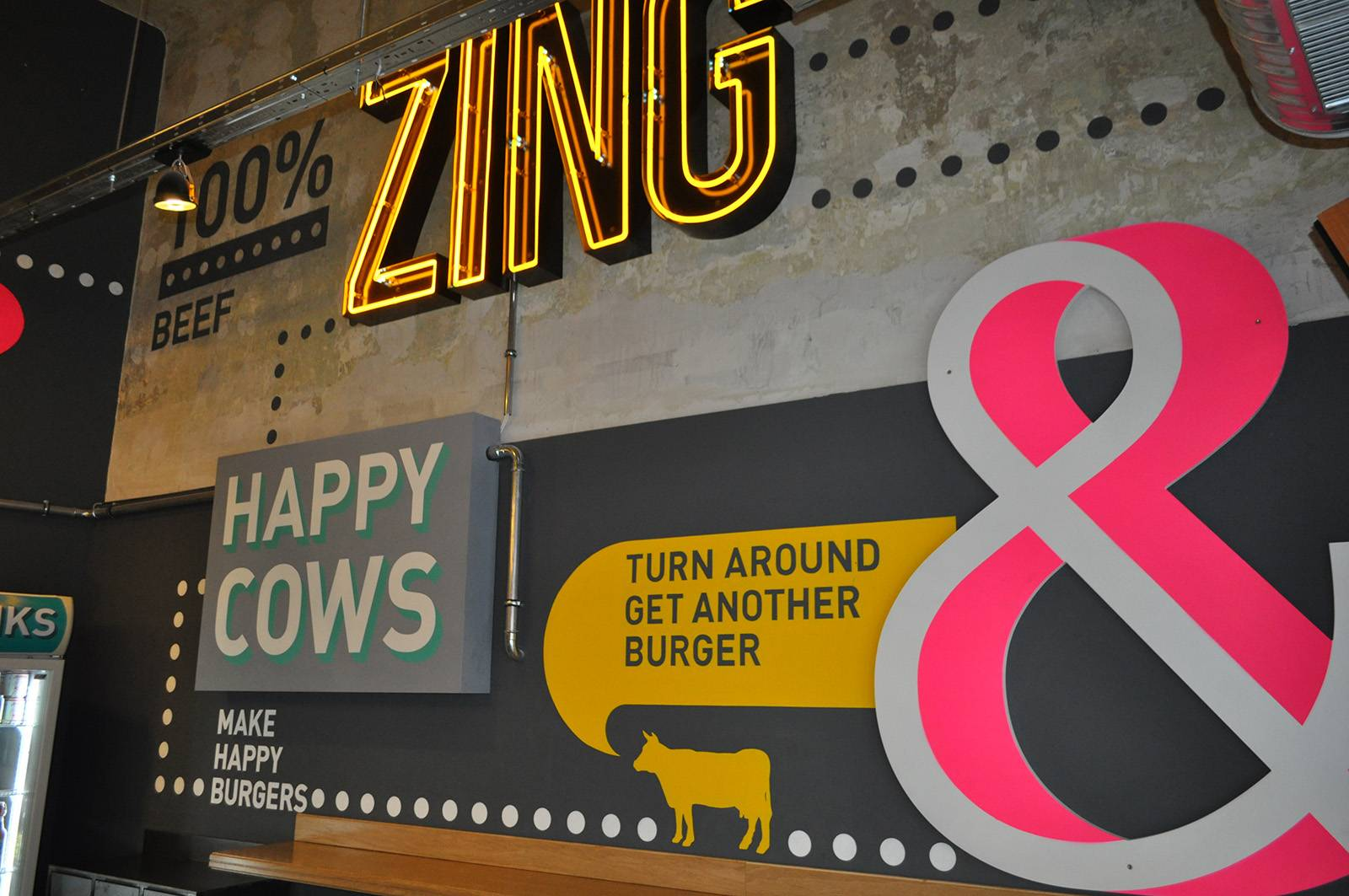 Zing burger - Neopaint Works