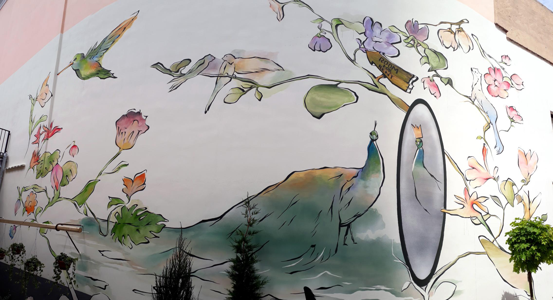 díszítőfestés titkos kert - neopaint works