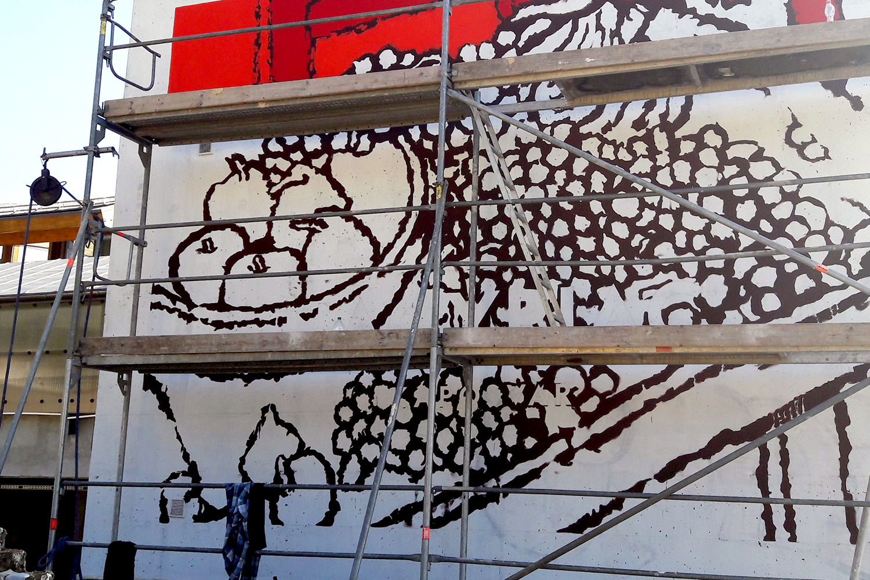 rippl-rónai falfestmény - neopaint works
