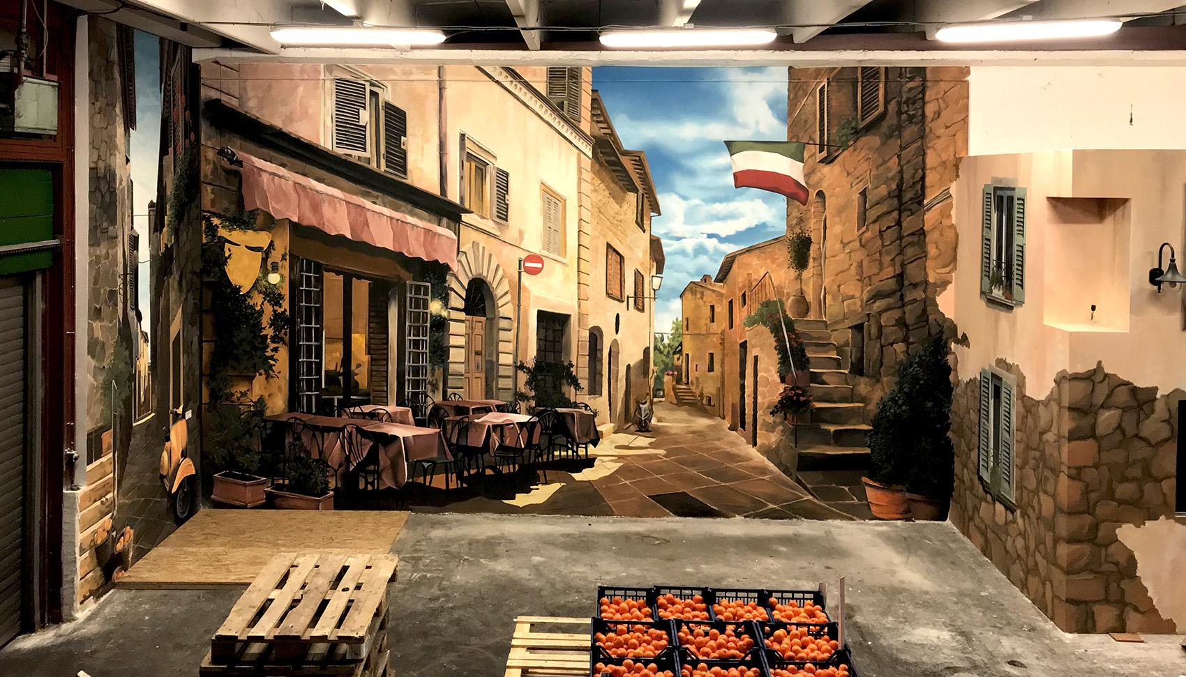 mercato díszítő festés - neopaint works