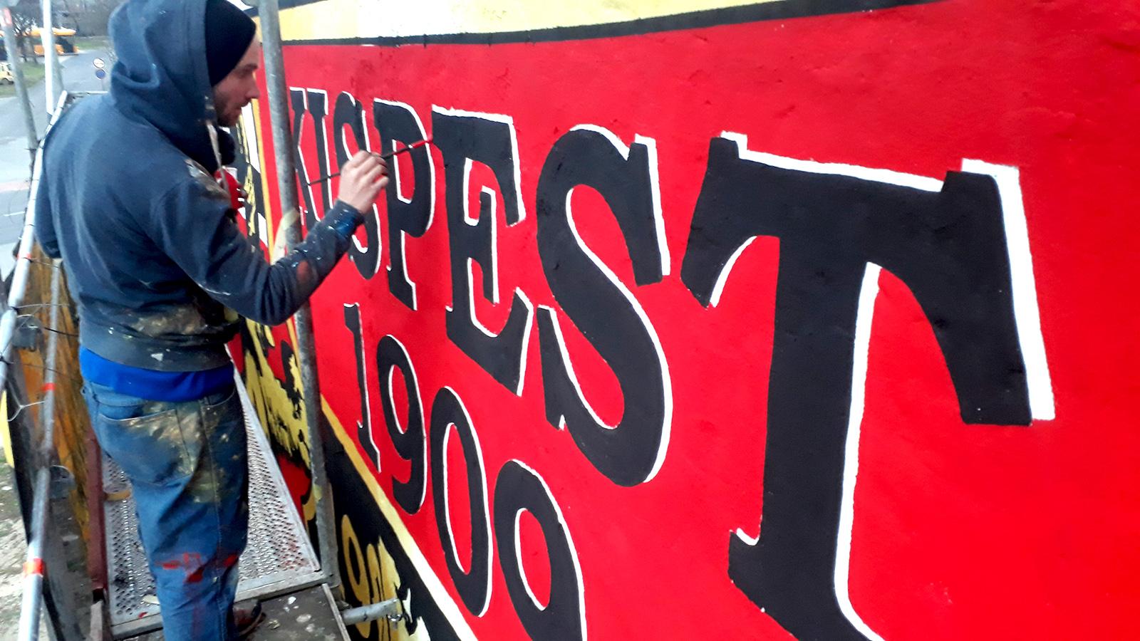 Kispest graffiti - neopaint works