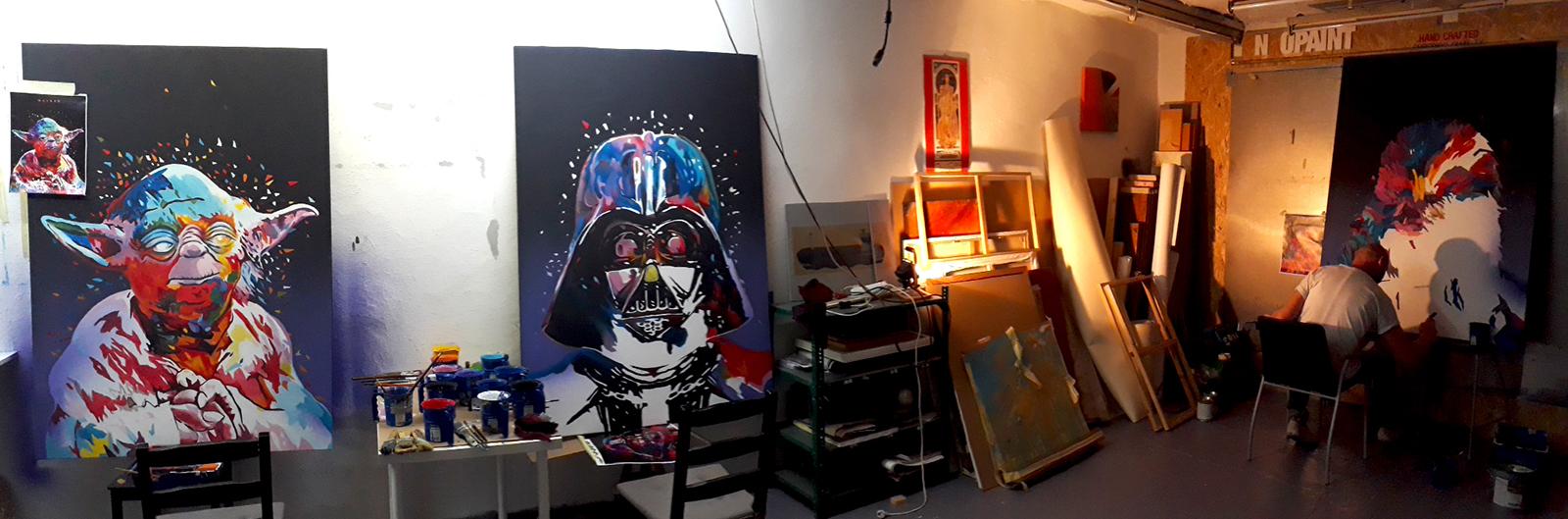 star warz festmények - neopaint works