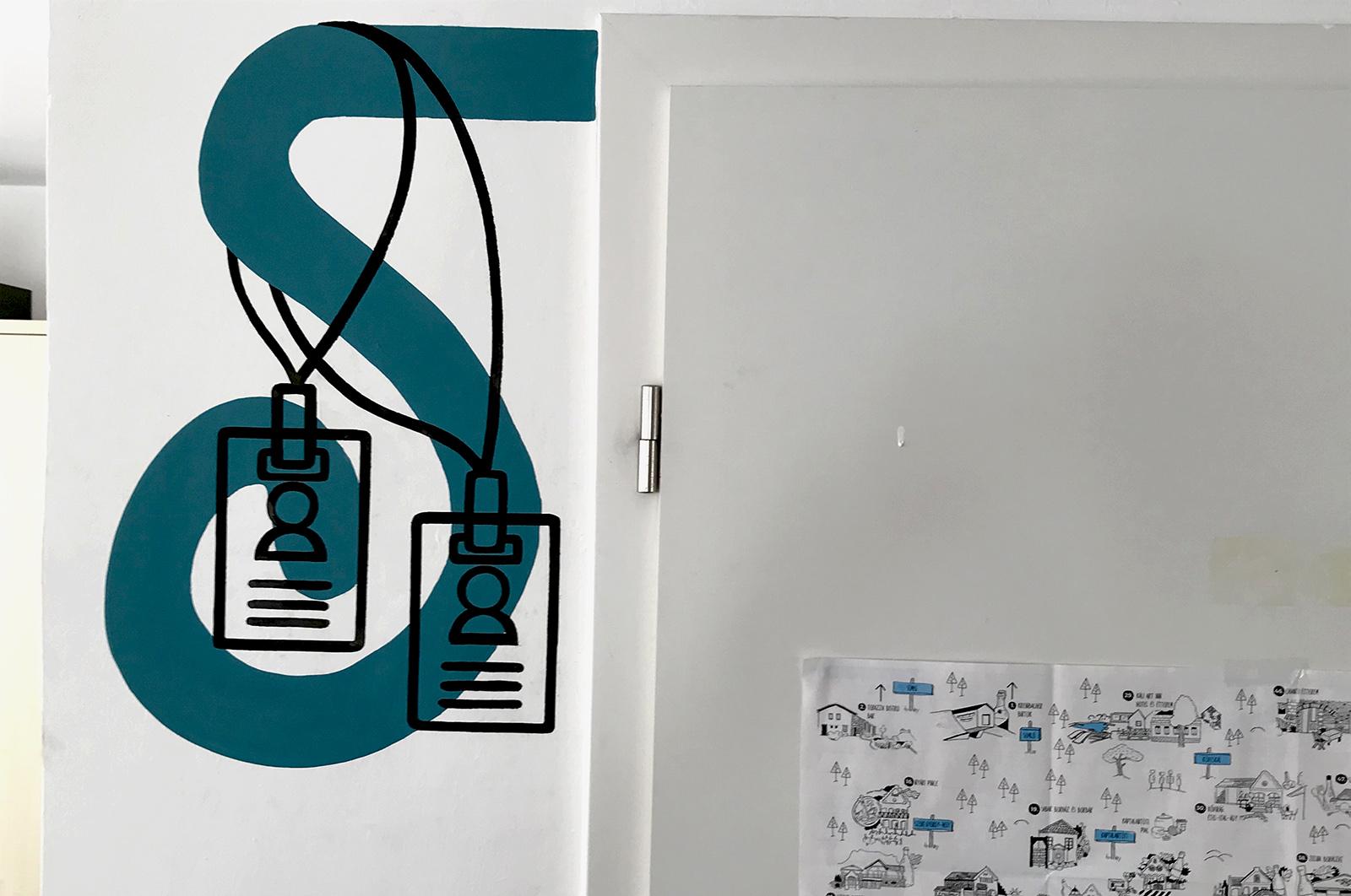 roxer iroda dekoráció - neopaint works