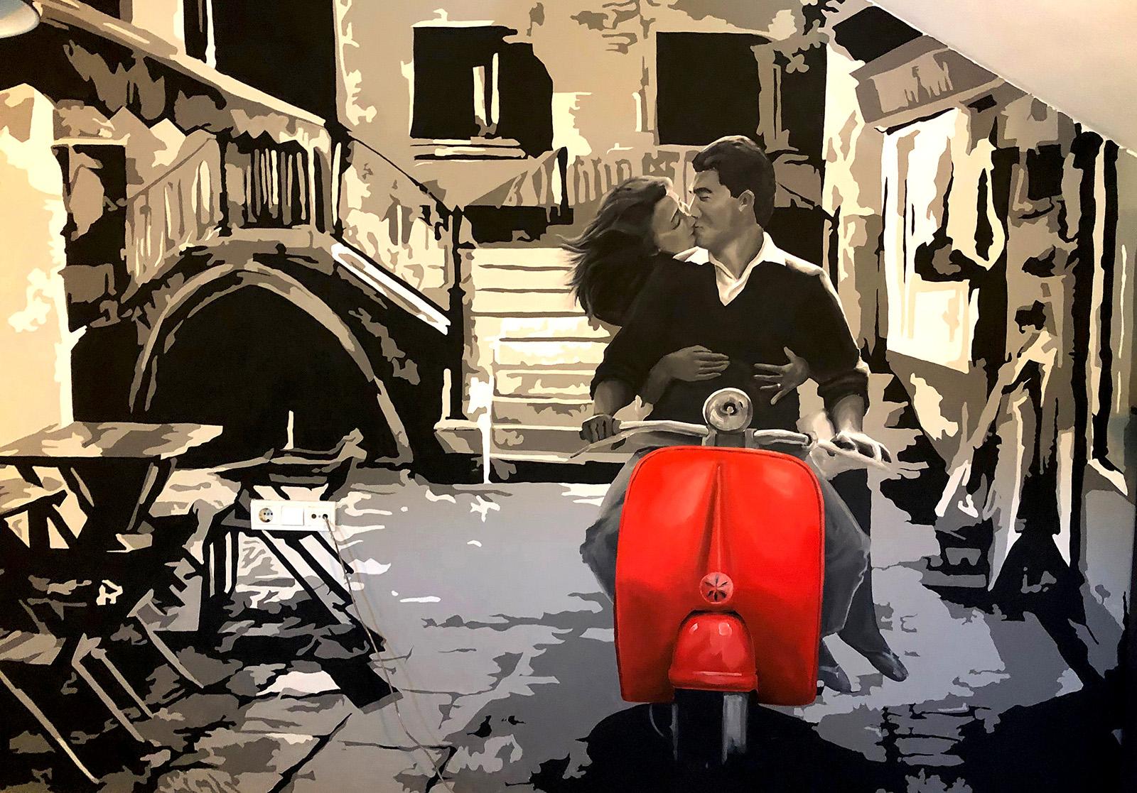 catherina beltéri festmény - neopaint works