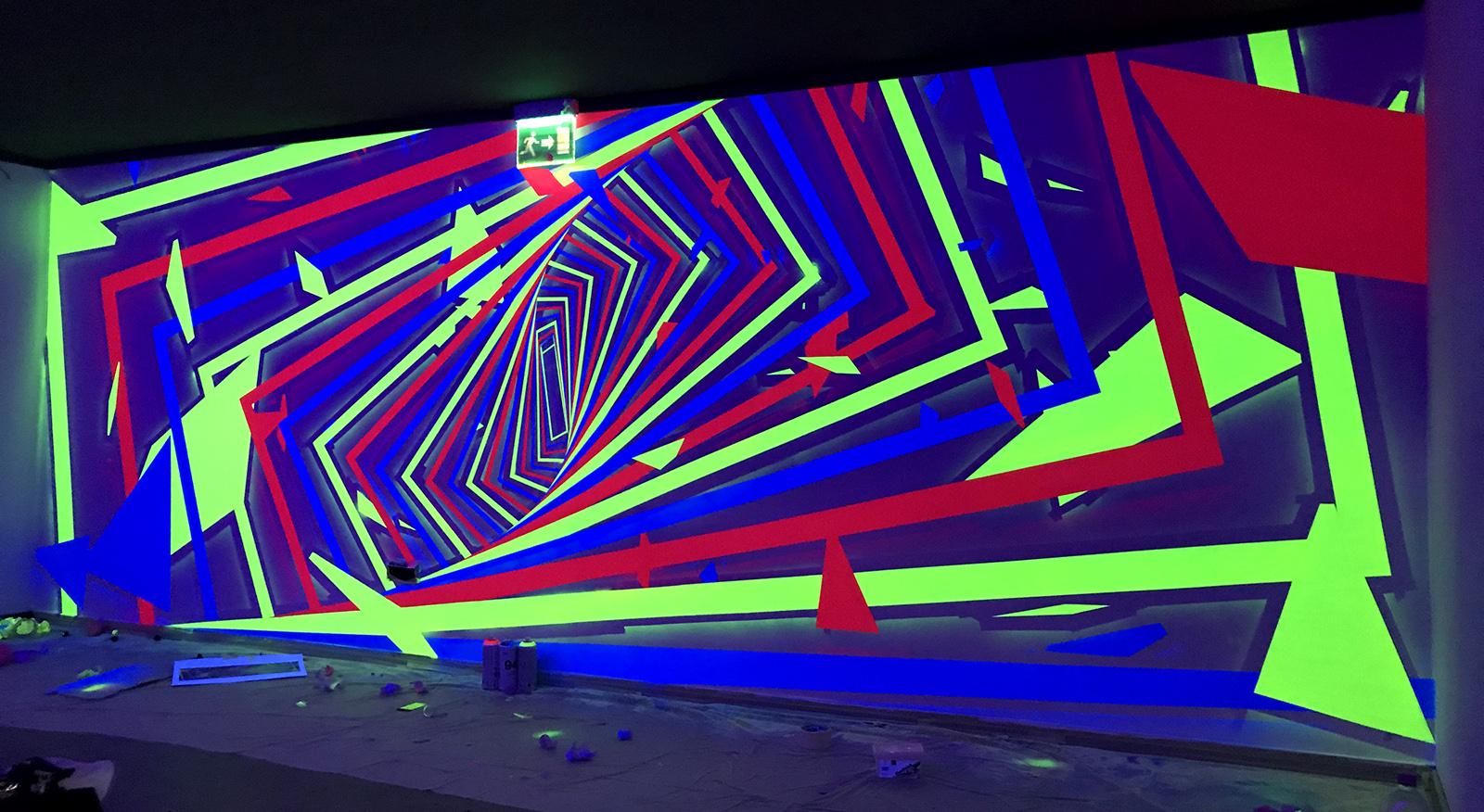 UV spirál - neopaint works