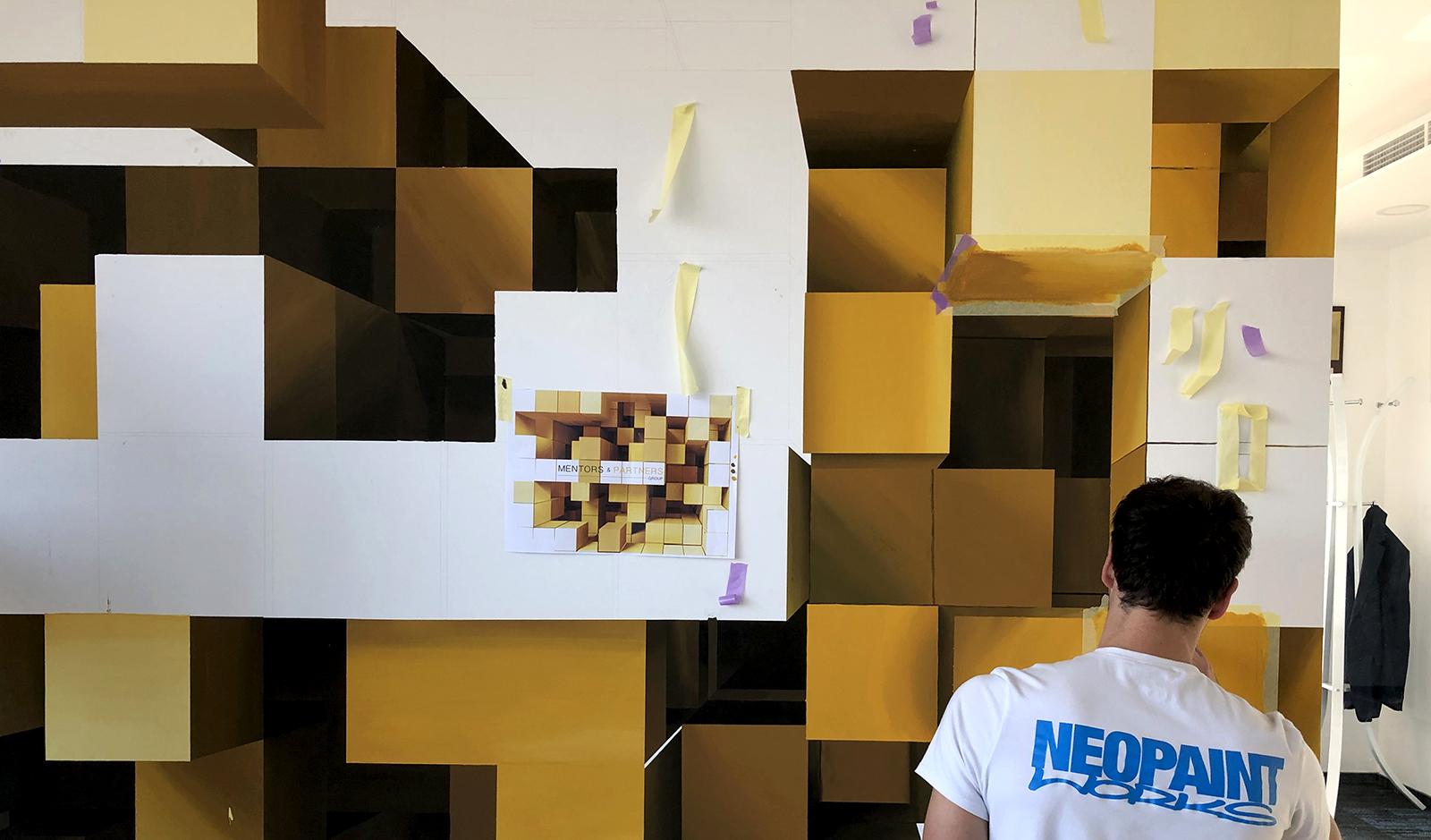 3D kockák - Neopaint