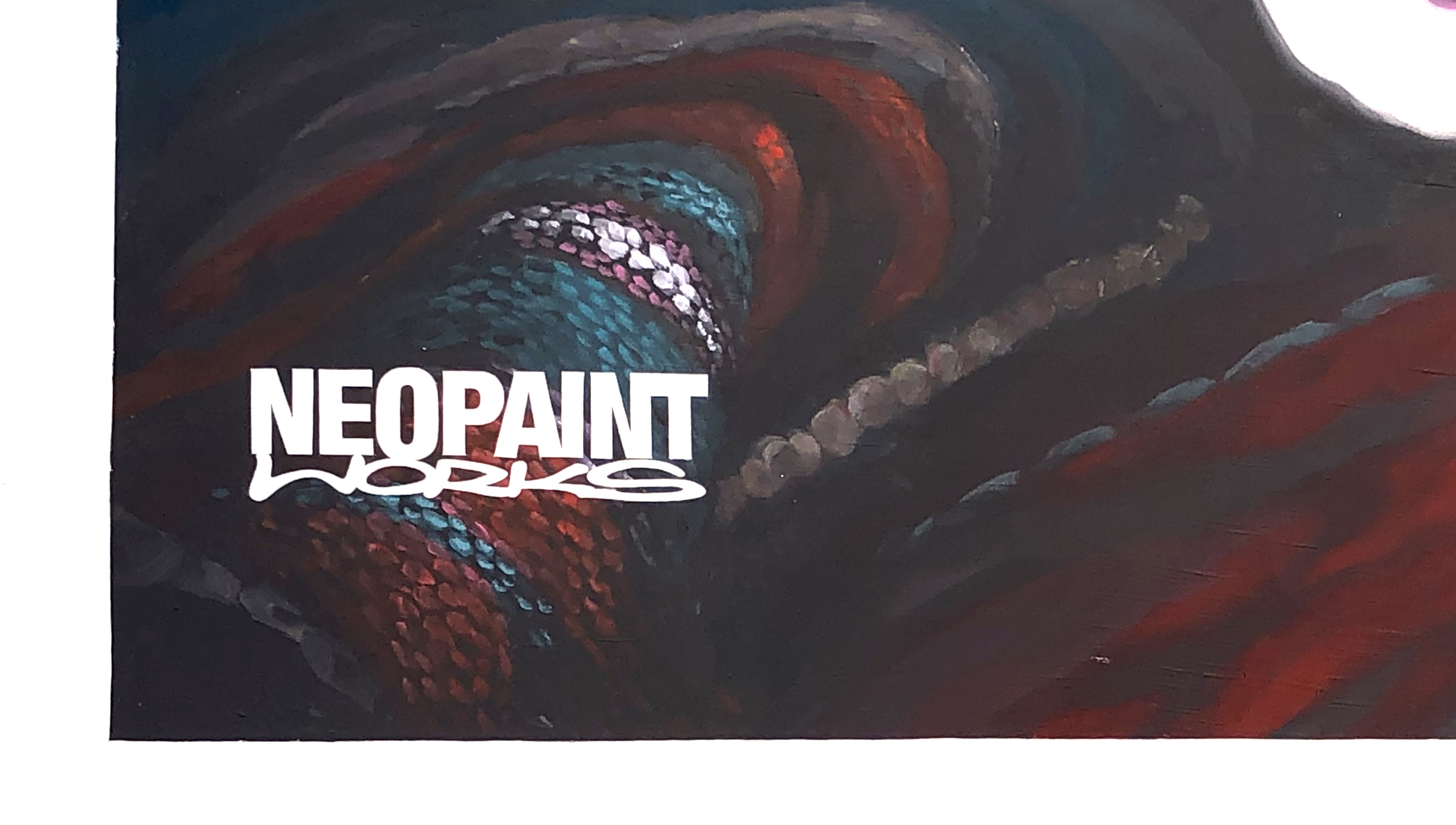 Tűzfalfestés - unhcr Neopaint Works
