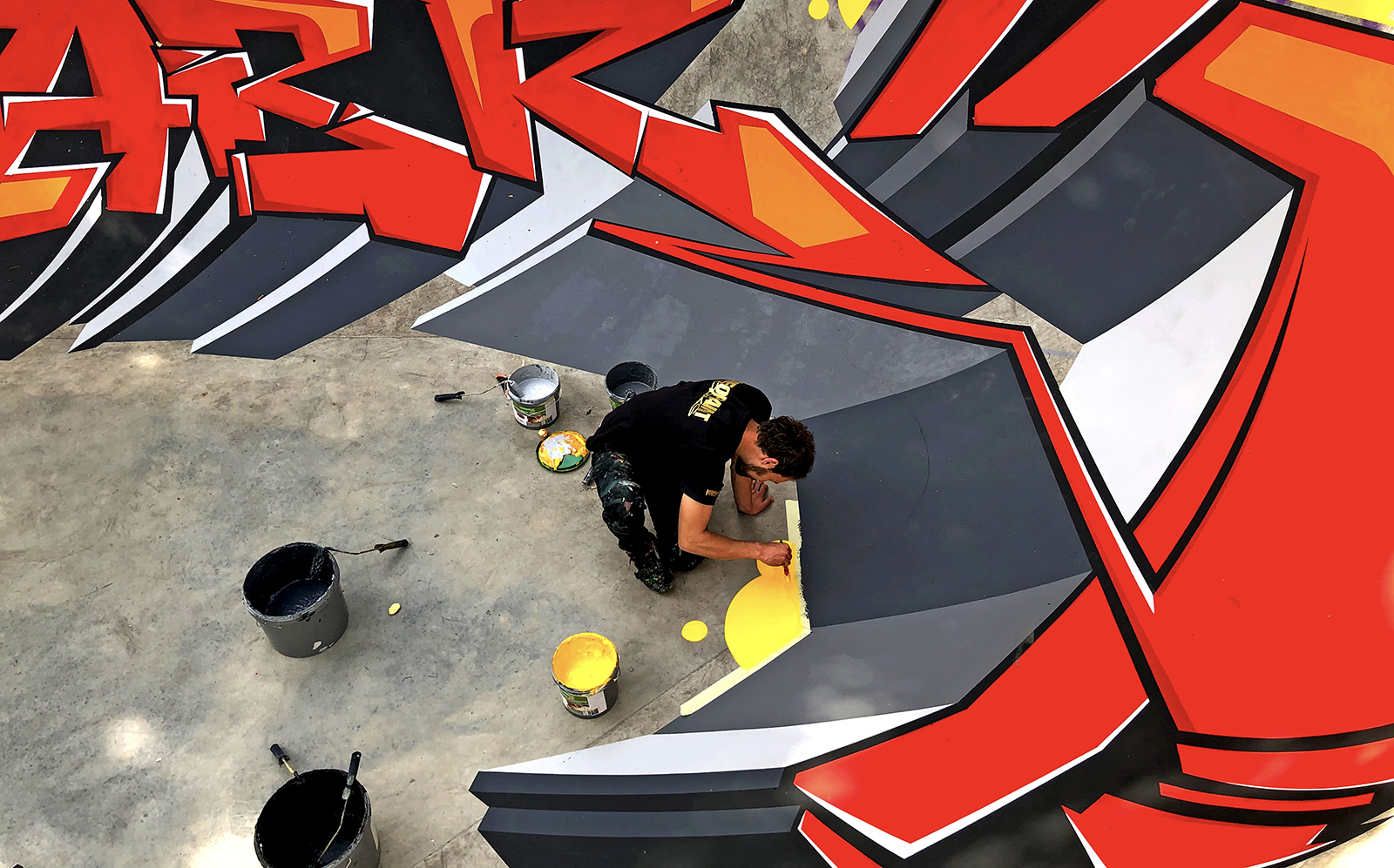 skatepark graffiti - neopaint works