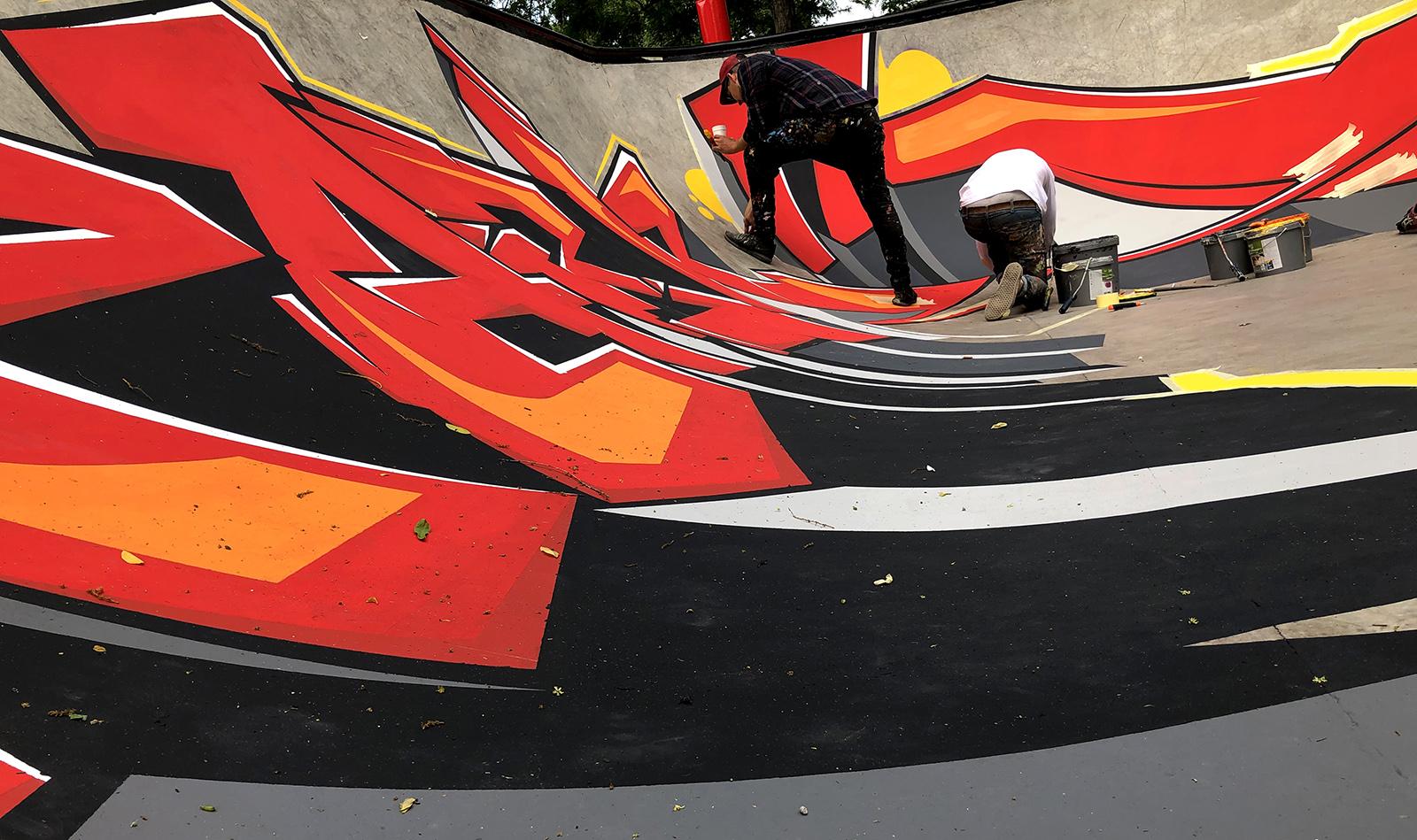skatepark - neopaint works