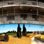 toscana - dekorációs falfestmény