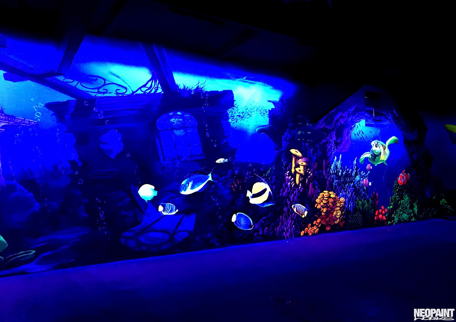 UV falfestés - UV - világító festés - neopaint works (8)b