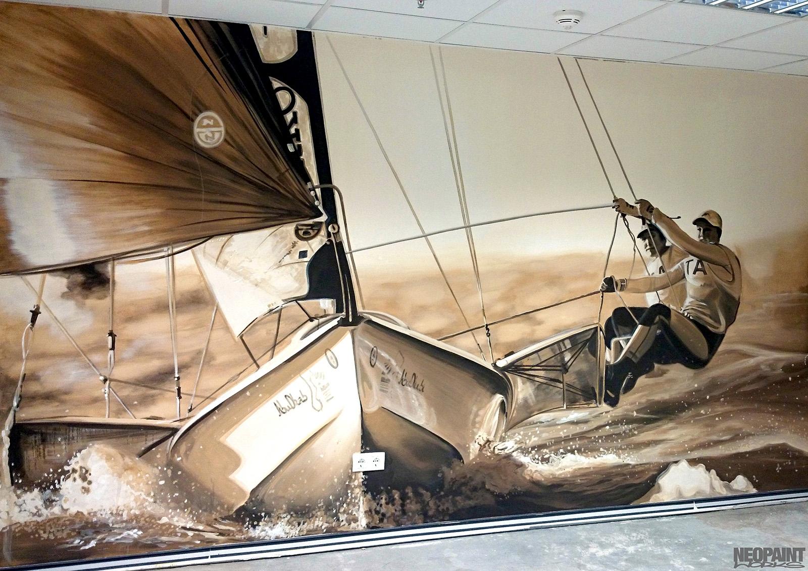 faldekoráció festve - graffiti - festmény - neopaint works - sport (5)