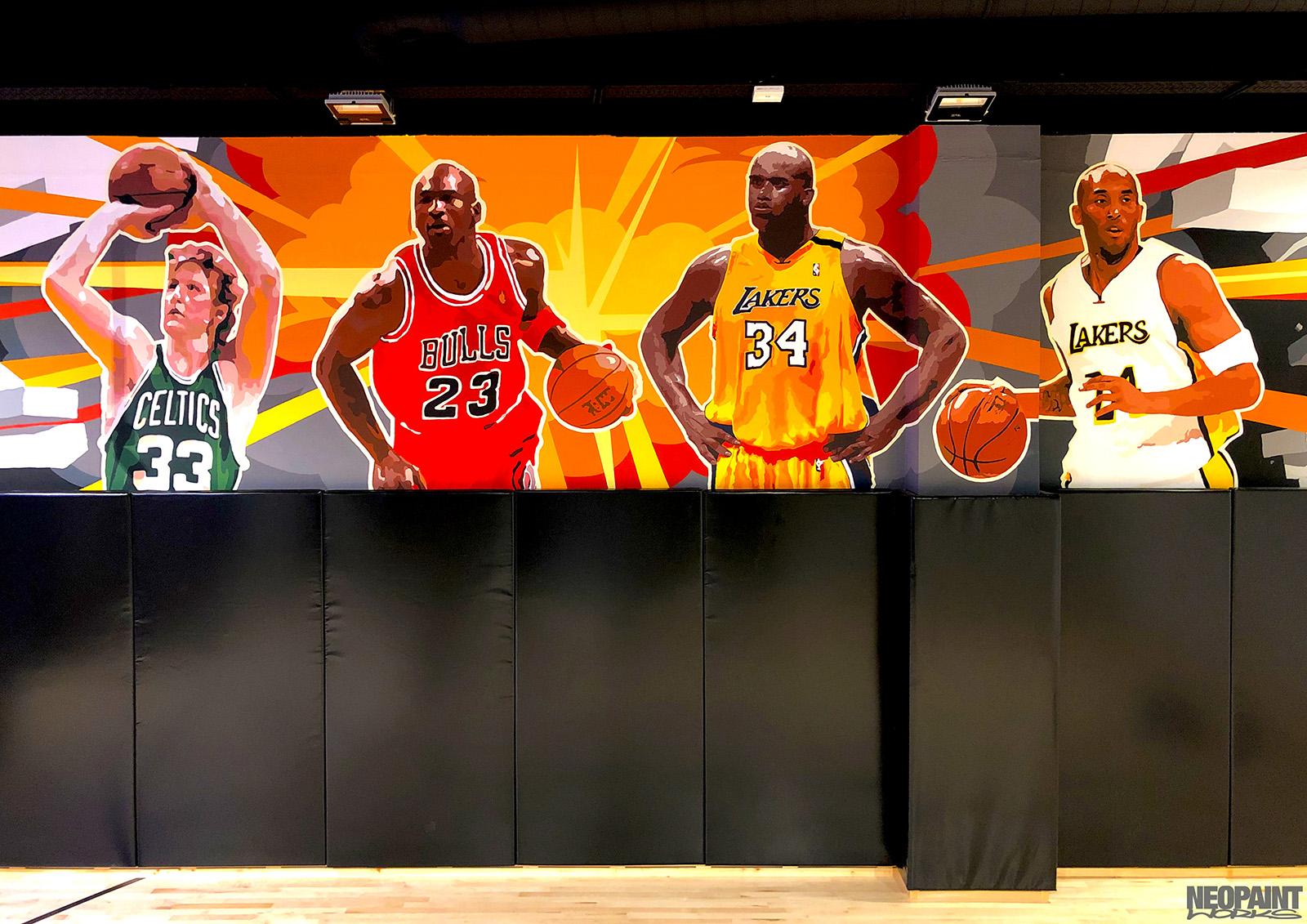 festett faldekoráció - NBA - kosárlabda - freskó - graffiti - neopaint works (2)