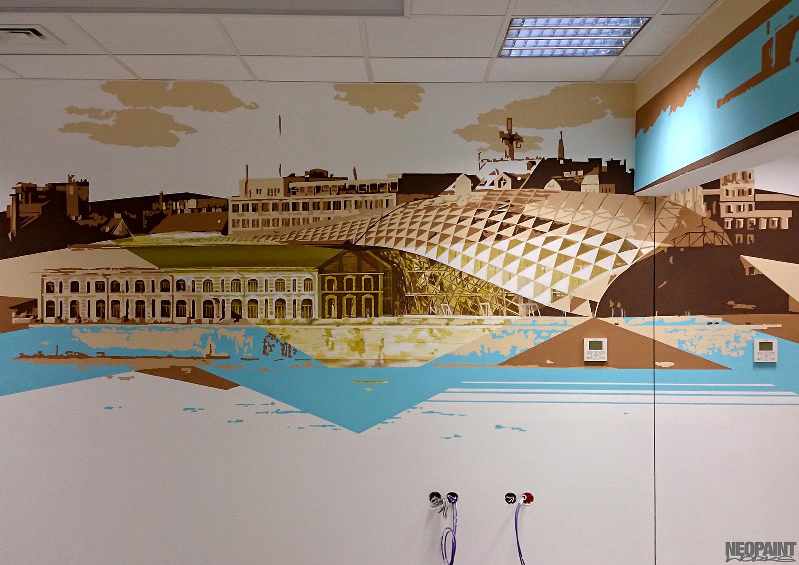 művészi falfestés - freskó - neopaint works